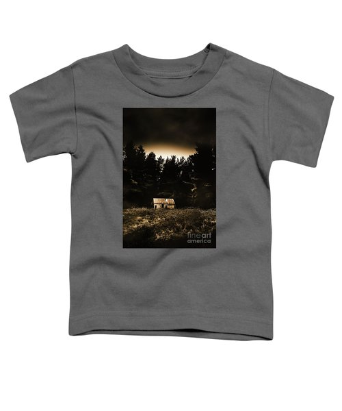 Cabin In The Woodlands  Toddler T-Shirt