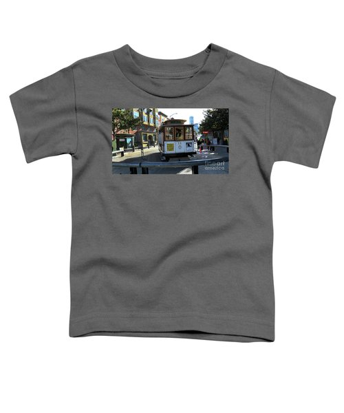 Cable Car Turnaround Toddler T-Shirt