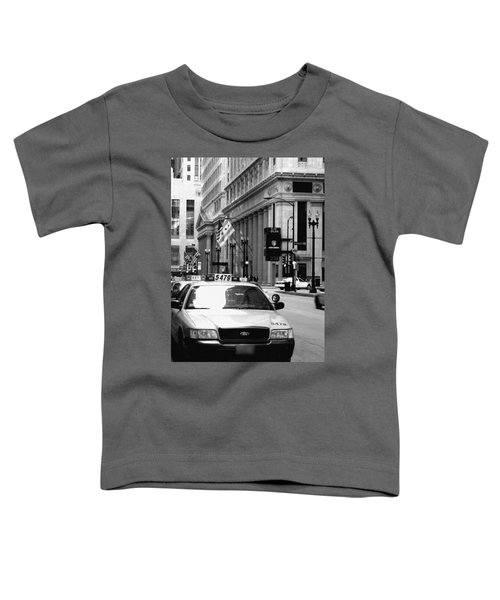 Cabs In The City Toddler T-Shirt