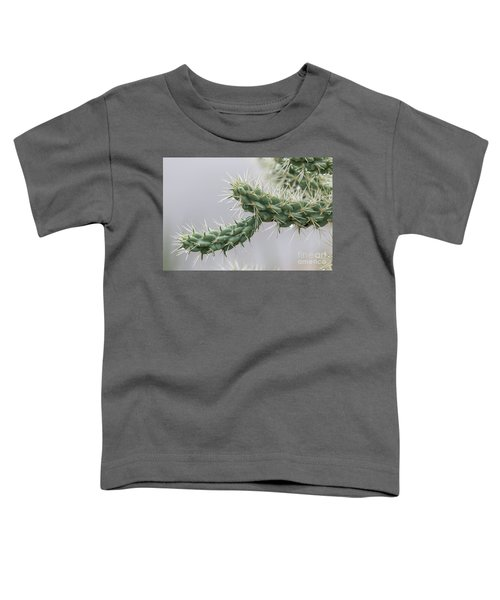 Cactus Branch With Wet White Long Needles Toddler T-Shirt