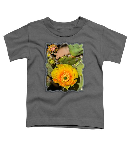 Cactus Flower Op46 Toddler T-Shirt