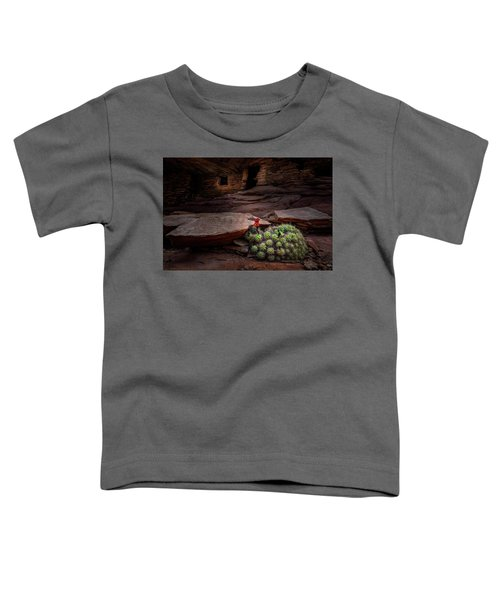 Cactus On Fire Toddler T-Shirt