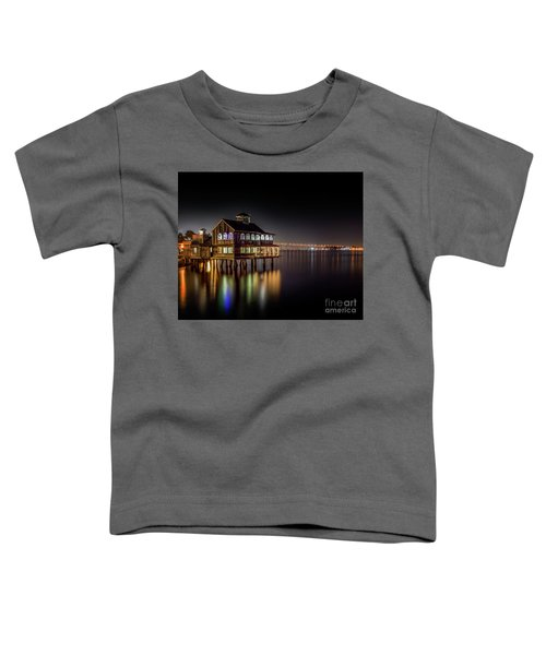 Cafe On The Port Toddler T-Shirt