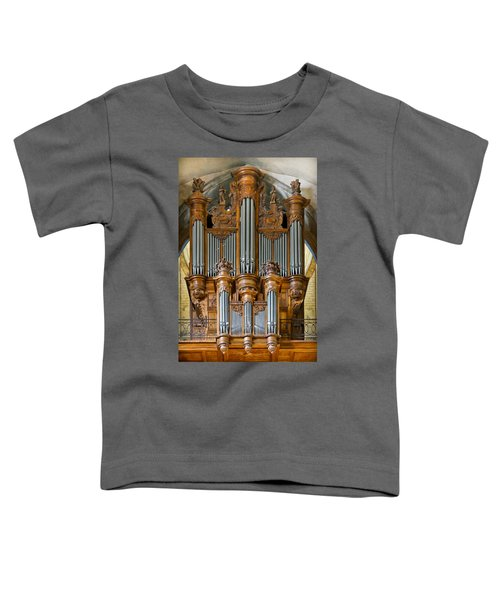 Cahors Cathedral Organ Toddler T-Shirt