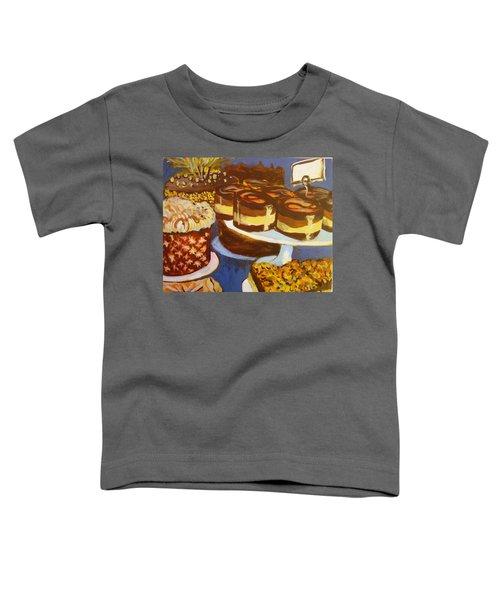 Cake Case Toddler T-Shirt