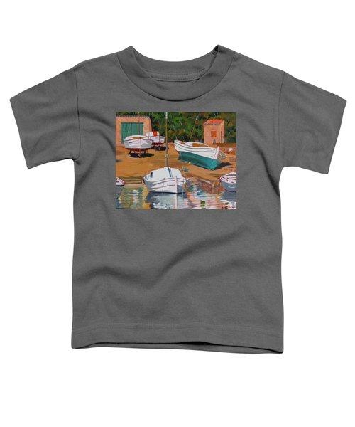 Cala Figuera Boatyard - II Toddler T-Shirt