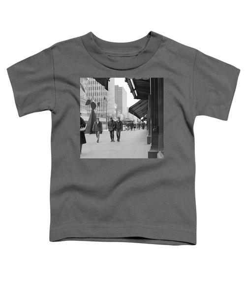 Calder Sculpture On Nicollet Mal Toddler T-Shirt