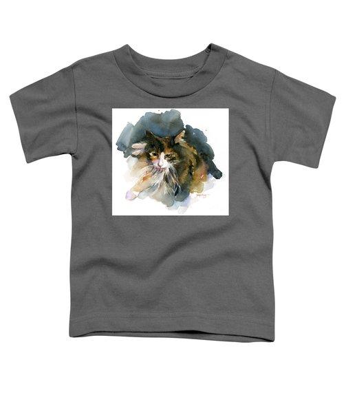 Calico Cat Toddler T-Shirt