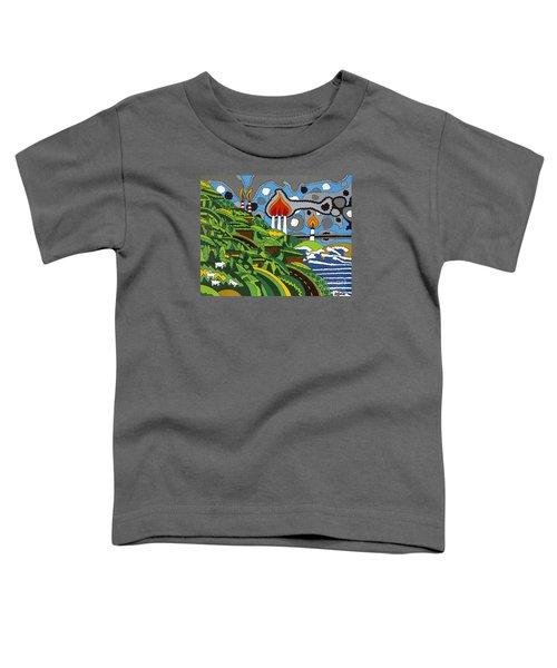 California Highway 1 Toddler T-Shirt