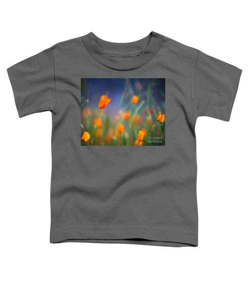 California Poppies 2 Toddler T-Shirt