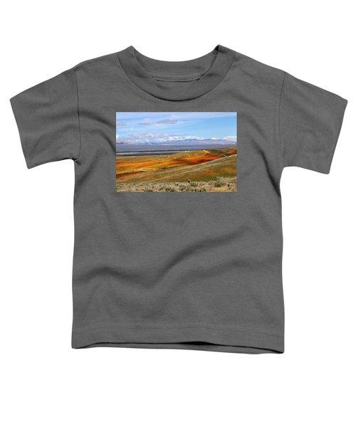California Poppy Reserve Toddler T-Shirt