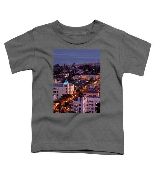 California Street At Ventura California Toddler T-Shirt