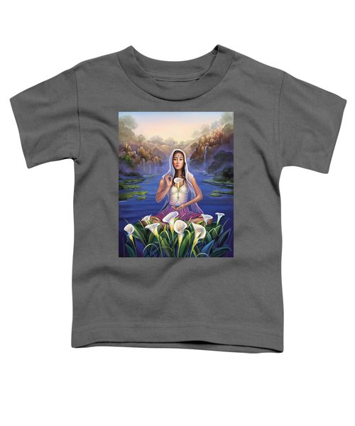 Calla Lily - Be Still Toddler T-Shirt