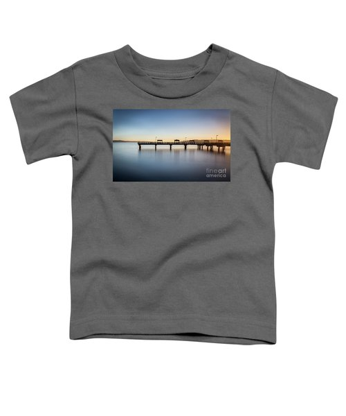 Calm Morning At The Pier Toddler T-Shirt