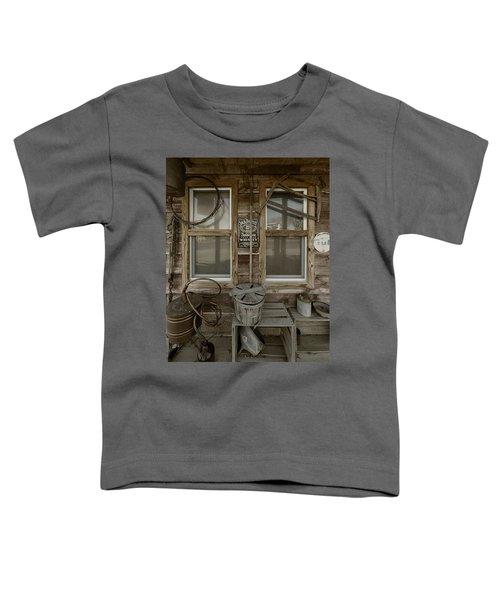 Calvins Garage In Deshler Nebraska Toddler T-Shirt