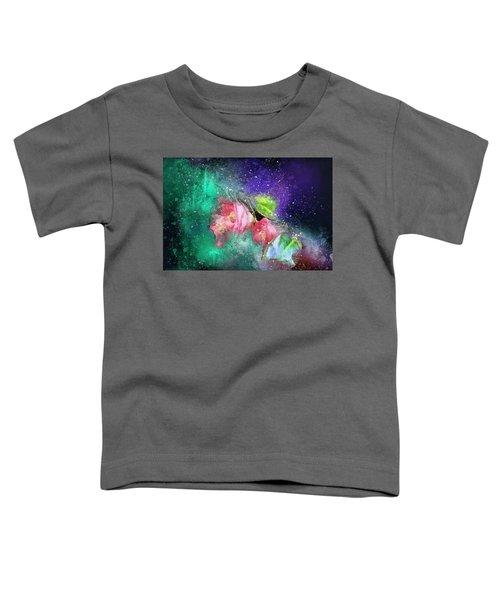 Camellias In A Galaxy Far Far Away Toddler T-Shirt