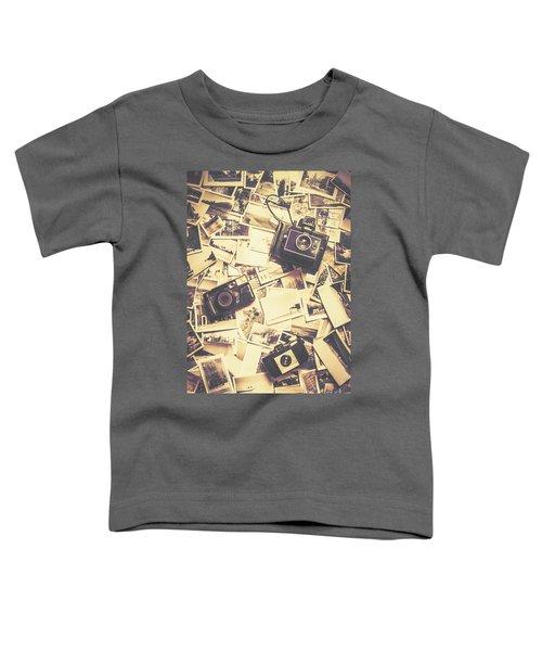 Cameras On A Visual Storyboard Toddler T-Shirt