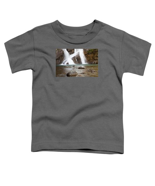 Cameron Falls In Waterton Lakes National Park Toddler T-Shirt