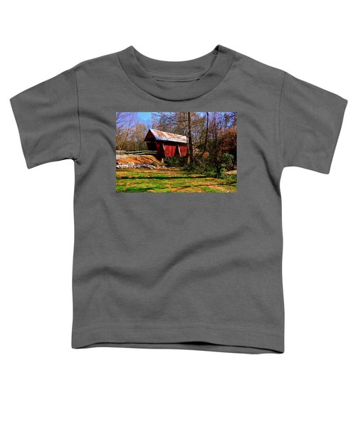 Campbell's Covered Bridge Est. 1909 Toddler T-Shirt