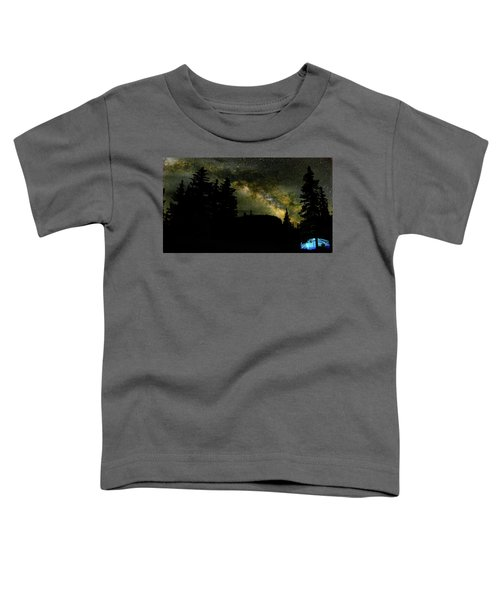 Camping Under The Milky Way 2 Toddler T-Shirt