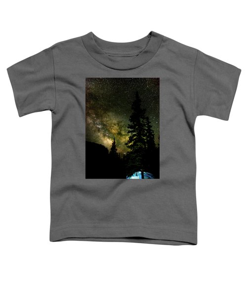 Camping Under The Milky Way Toddler T-Shirt