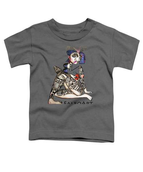 Can You See Me Know Toddler T-Shirt by Anthony Falbo