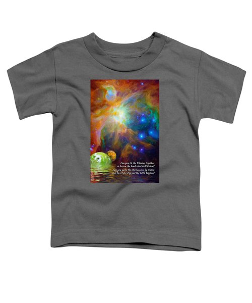 Can You Tie The Pliades Together? Toddler T-Shirt