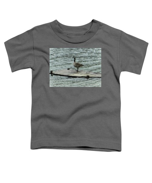 Canada Goose Lake Dock Toddler T-Shirt