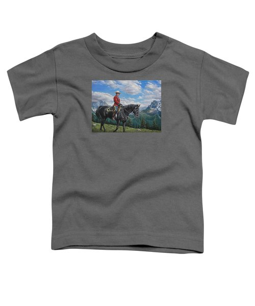 Canadian Majesty Toddler T-Shirt