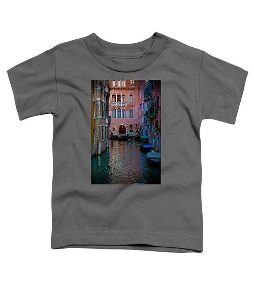 Canal At Dusk Toddler T-Shirt