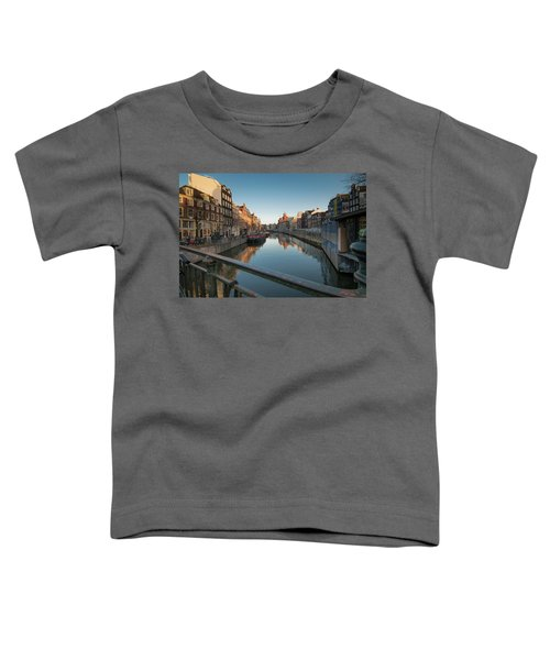 Canal From The Bridge Toddler T-Shirt