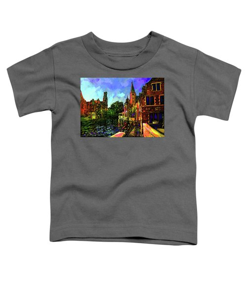 Canal In Bruges Toddler T-Shirt