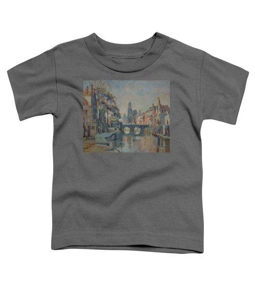 Canal In Utrecht Toddler T-Shirt
