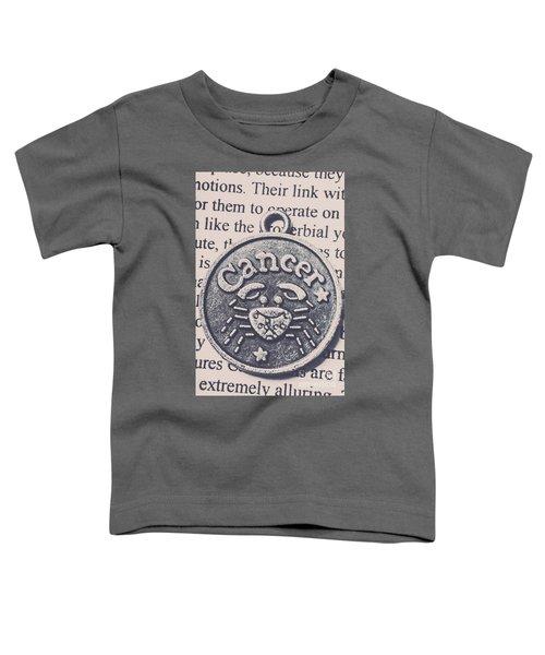 Cancer Zodiac Artwork Toddler T-Shirt