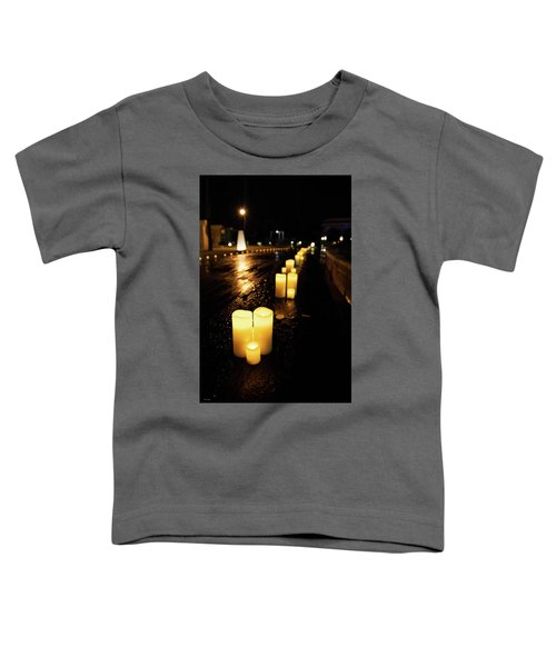 Candles On The Beach Toddler T-Shirt
