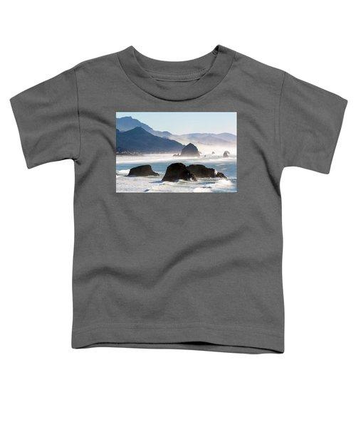 Cannon Beach On The Oregon Coast Toddler T-Shirt