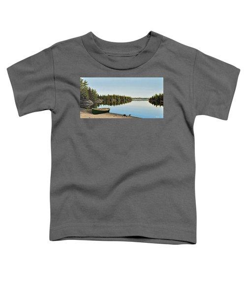 Canoe The Massassauga Toddler T-Shirt