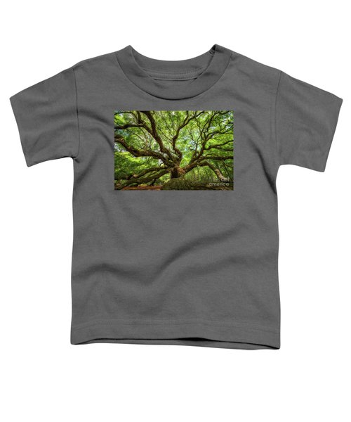 Canopy Of Color At Angel Oak Tree  Toddler T-Shirt