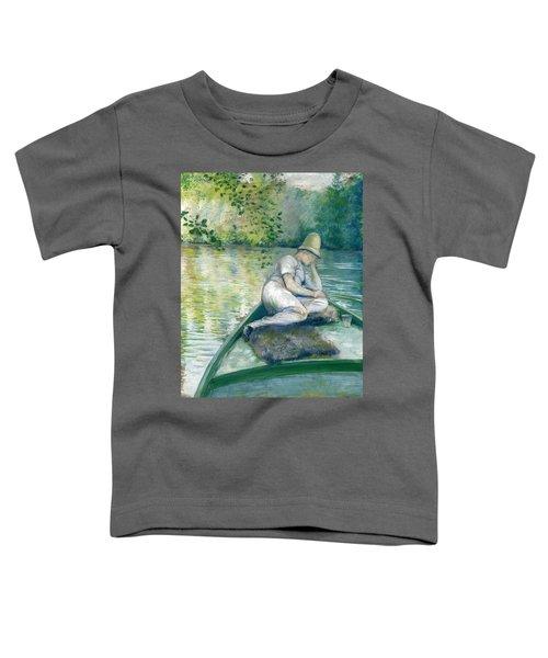 Canotier Sur L'yerres Toddler T-Shirt