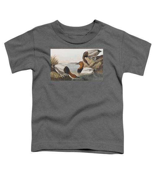 Canvas Backed Duck Toddler T-Shirt