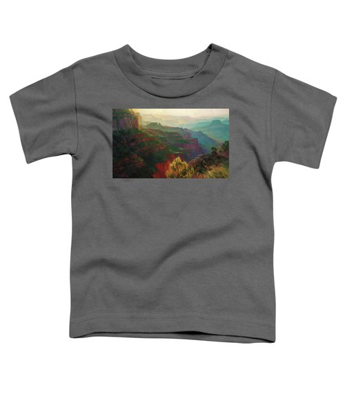 Canyon Silhouettes Toddler T-Shirt