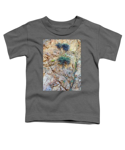 Toddler T-Shirt featuring the photograph Canyon Vegetation by James BO Insogna