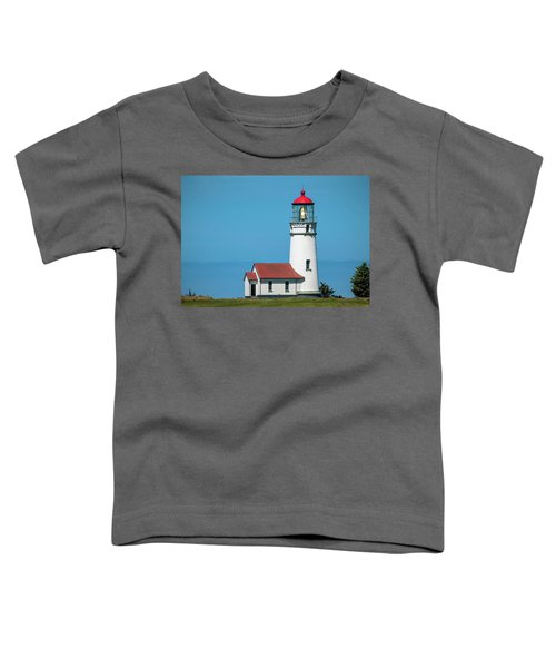 Cape Blanco Lighthouse At Cape Blanco, Oregon Toddler T-Shirt