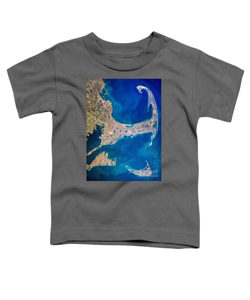 Cape Cod And Islands Spring 1997 View From Satellite Toddler T-Shirt