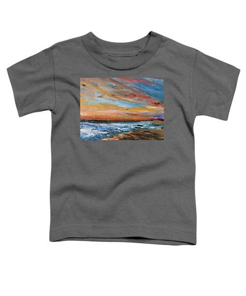 Cape Cod Sunrise Toddler T-Shirt