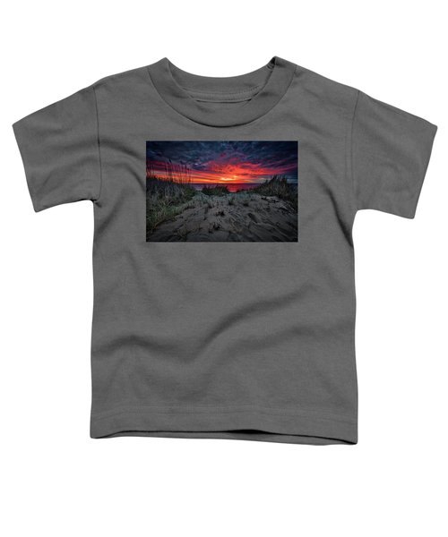 Cape Cod Sunrise Toddler T-Shirt