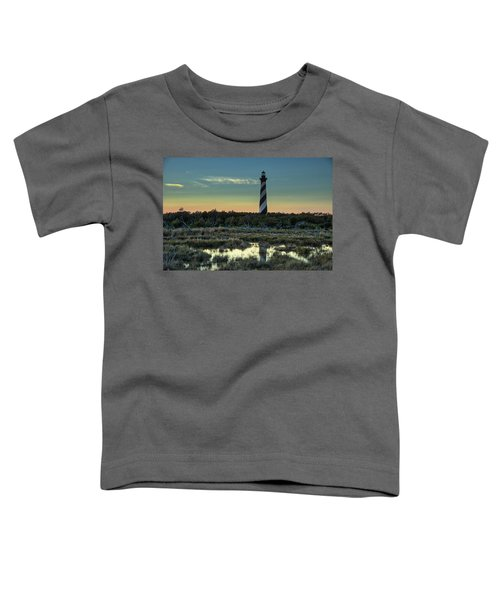 Toddler T-Shirt featuring the photograph Cape Hatteras Sunset by Donald Brown