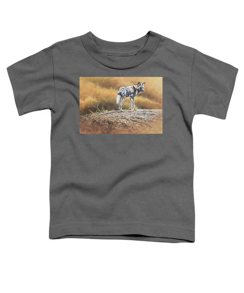 Cape Hunting Dog Toddler T-Shirt