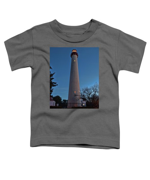 Cape May Lighthouse In Evening Toddler T-Shirt