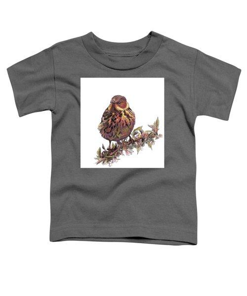 Cape May Warbler Toddler T-Shirt
